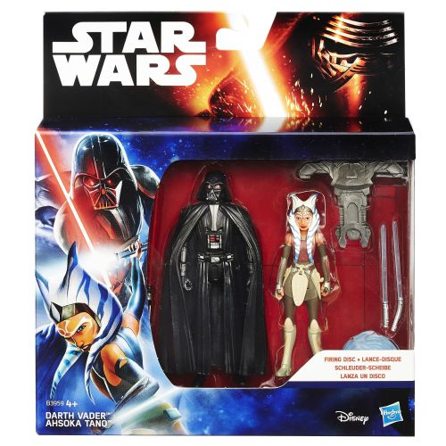 Star Wars Rebels Space Mission Darth Vader & Ahsoka 2-Pack